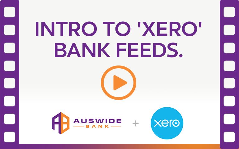 Xero Bank Feeds. Watch Video.