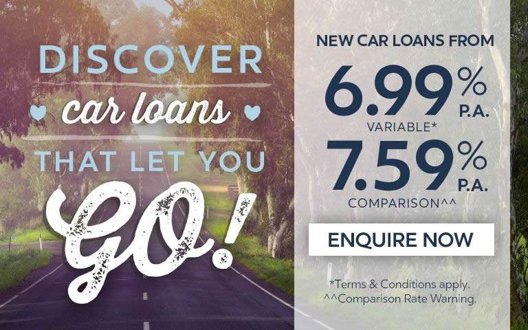 Discover car loans that let you go!